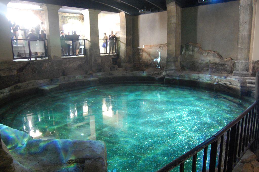 Cold Plunge Roman Baths Bath